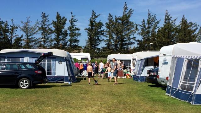 Gør som mange andre - book overnatning på Søndervig Camping
