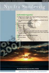 Sondervig Nyt 2007 forside
