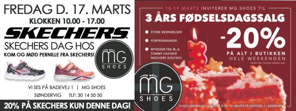 Fødselsdag og mærkedag hos MG Shoes