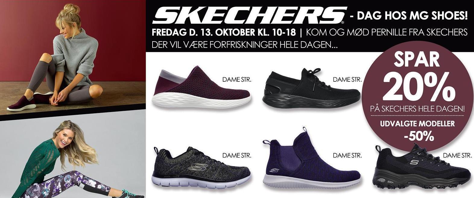 758948397e82 SKECHERS DAG HOS MG SHOES - Søndervig.dk